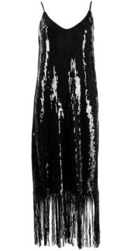 Doris Fringed Sequin Dress - In The Mood For Love