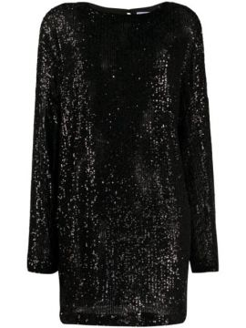 Alexandra Sequin Shift Dress - In The Mood For Love