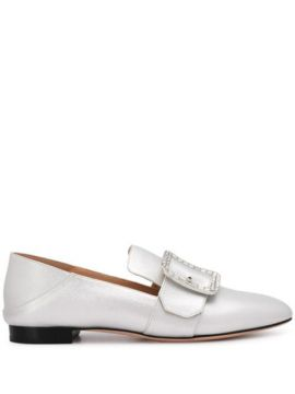 Janelle Metallic Loafers - Bally