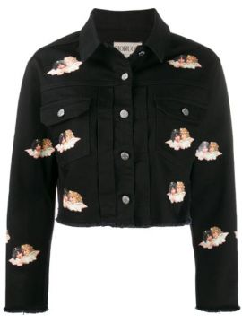 Angels Printed Denim Jacket - Fiorucci