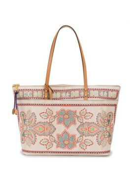 Floral-embroidery Tote Bag - Etro