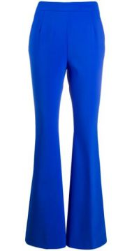 Flared Mid-rise Trousers - Fausto Puglisi