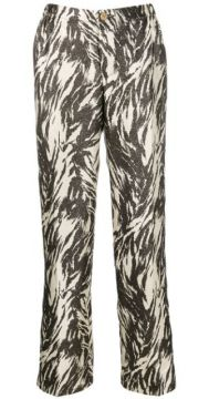 Printed Tapered Trousers - F.r.s For Restless Sleepers