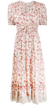 Zaria Floral Print Dress - Ulla Johnson