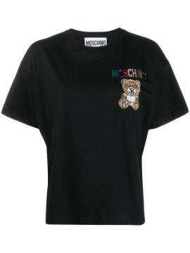 Embroidered Teddy T-shirt - Moschino