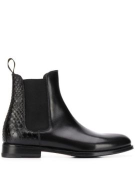 Ottavia Chelsea Ankle Boots - Scarosso