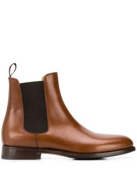 Elena Ankle Boots - Scarosso