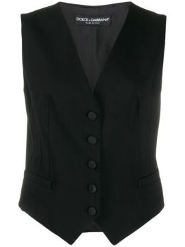 Fitted Single-breasted Gilet - Dolce & Gabbana Underwear