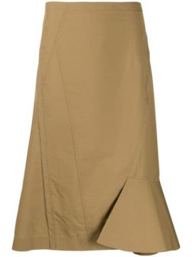 High-waisted Asymmetric Ruffled Skirt - 3.1 Phillip Lim