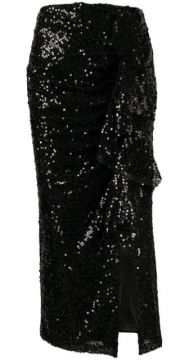 Moore Asymmetric Sequin Midi Skirt - In The Mood For Love
