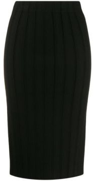 Ribbed Fitted Skirt - Emporio Armani