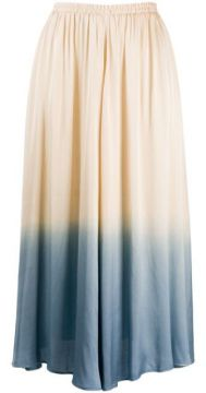 Two Tone Pleated Skirt - Forte Forte