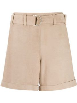 High-waisted Belted Short - Incentive! Cashmere