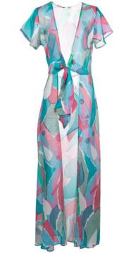 Lanna Abstract Print Cover-up - Cult Gaia