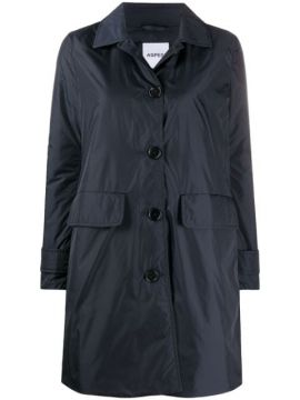 Albanella Button-through Coat - Aspesi