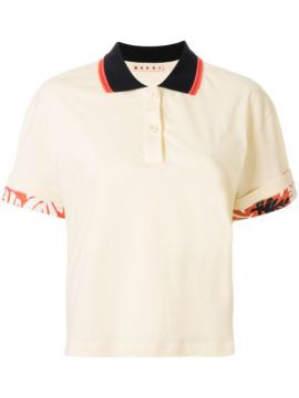 Tropical Details Polo Shirt - Marni