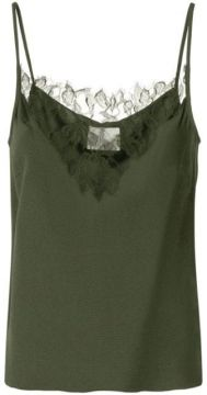 Lace-panelled Crepe Camisole - Dion Lee