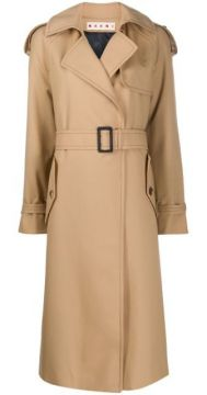 Belted Trench Coat - Marni