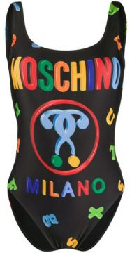 Logo Swimsuit - Moschino