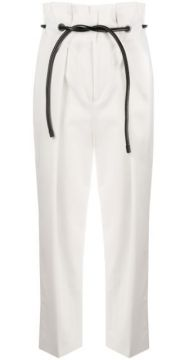 Paperbag-waist Cropped Trousers - 3.1 Phillip Lim