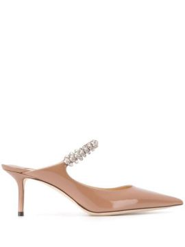 Mule Bing Com Salto 65mm - Jimmy Choo