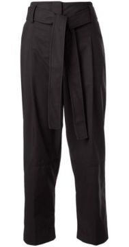 Cropped Tie Waist Trousers - 3.1 Phillip Lim