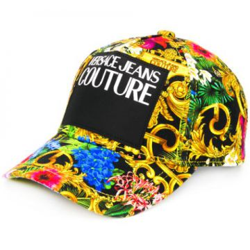 Tropical Baroque-print Baseball Cap - Versace Jeans Couture