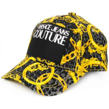 Leo Chain-print Baseball Cap - Versace Jeans Couture