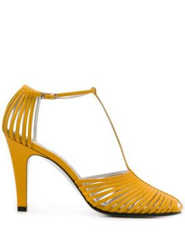 Cage Effect 100mm Peep Toe Sandals - Givenchy
