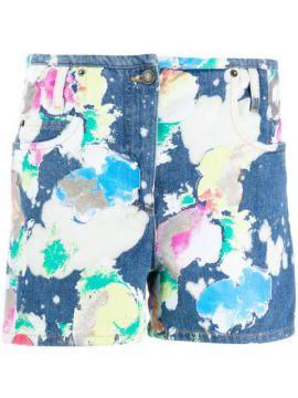 Bleached Painted Short - Moschino