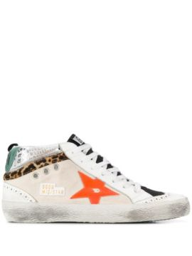 Mid Star Low-top Sneakers - Golden Goose