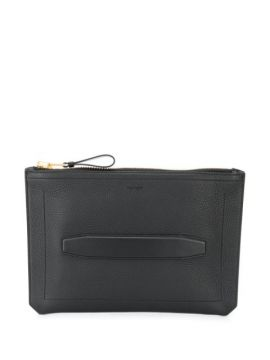 Embossed Logo Clutch - Tom Ford