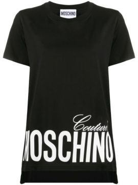 Camiseta Com Estampa Moschino Couture
