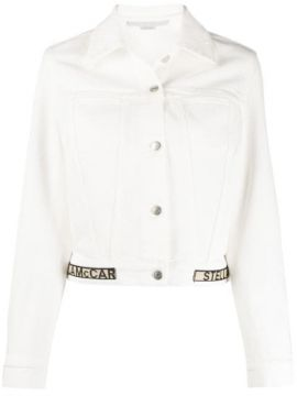 Jaqueta Jeans Cropped - Stella Mccartney