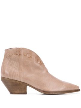 Ankle Boot Arielle Com Salto 65mm - Officine Creative
