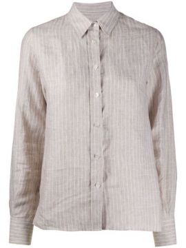Striped Linen Shirt - Eleventy