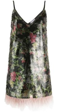 Mello Graphic Floral Print Dress - In The Mood For Love