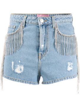 Short Jeans Com Destroyed - Chiara Ferragni