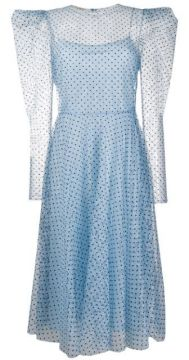 Sheer Polka Dot Dress - Philosophy Di Lorenzo Serafini