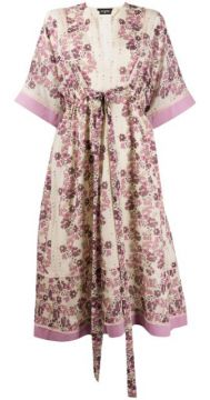 Floral Printed Tunic Dress - Dsquared2