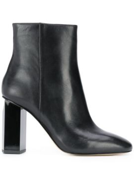 Chunky-heel Round-toe Boots - Michael Kors Collection