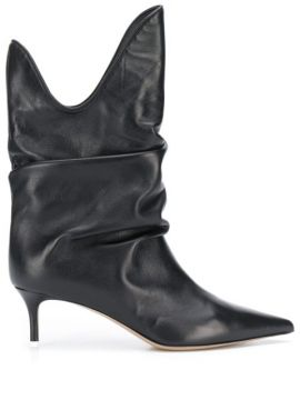 Slouchy 60mm Ankle Boots - Attico