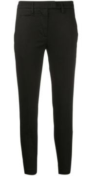 Cigarette Slim-fit Trousers - Dondup