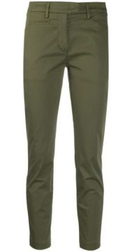 Slim-fit Tapered Leg Trousers - Dondup