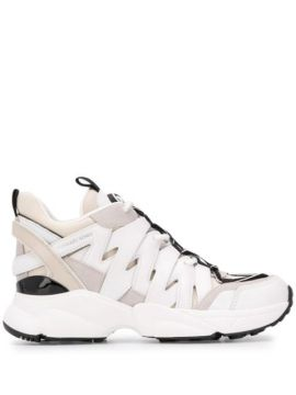 Panelled Colour Block Sneakers - Michael Michael Kors