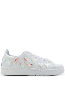 Heart-embellished Low-top Sneakers - Chiara Ferragni
