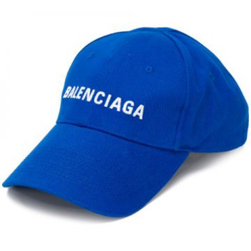 Embroidered Logo Baseball Cap - Balenciaga