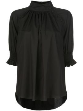 Stand-up Collar Blouse - Adam Lippes