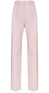 Pleated Front Tailored Trousers - Stella Mccartney