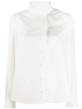Pleated Placket Shirt - Frame